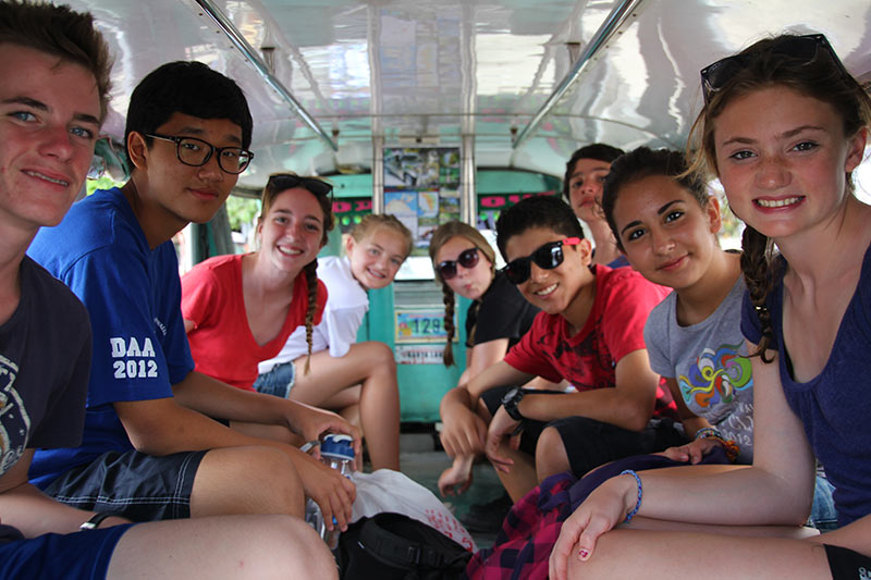 international school student educational trips puerto galera philippines