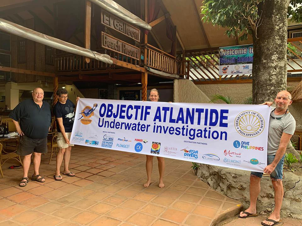 objectif atlantide underwater investigation asia divers philippines
