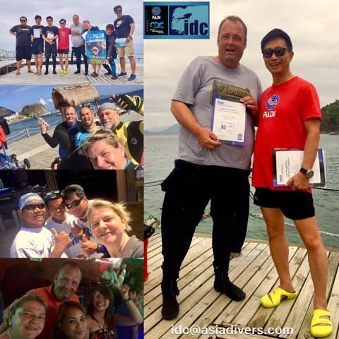 PADI Instructor training at Asia Divers in Puerto Galera