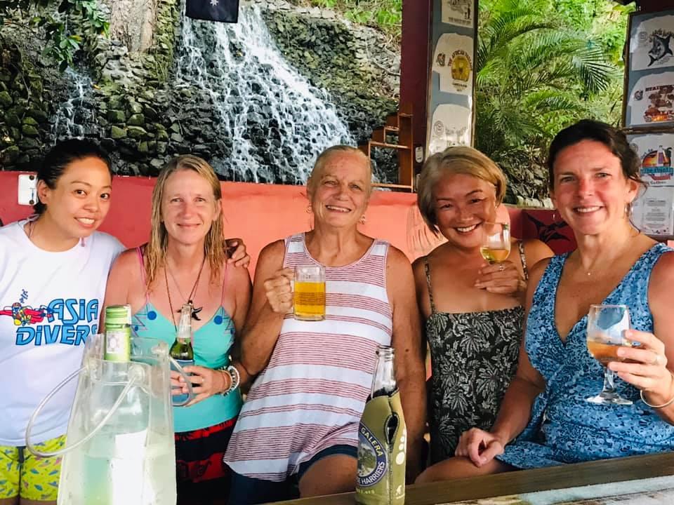 el galleon dive resort point bar sabang