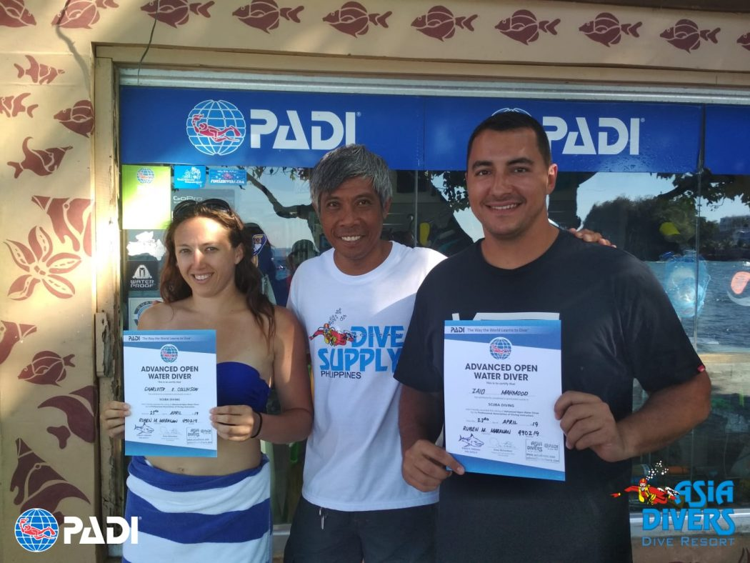 PADI Advanced Open Water Course Puerto Galera Philippines
