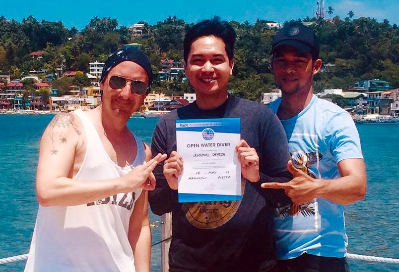 PADI Open Water Diver courses in Puerto Galera Philippines