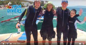 scuba diving courses for kids at el galleon dive resort puerto galera