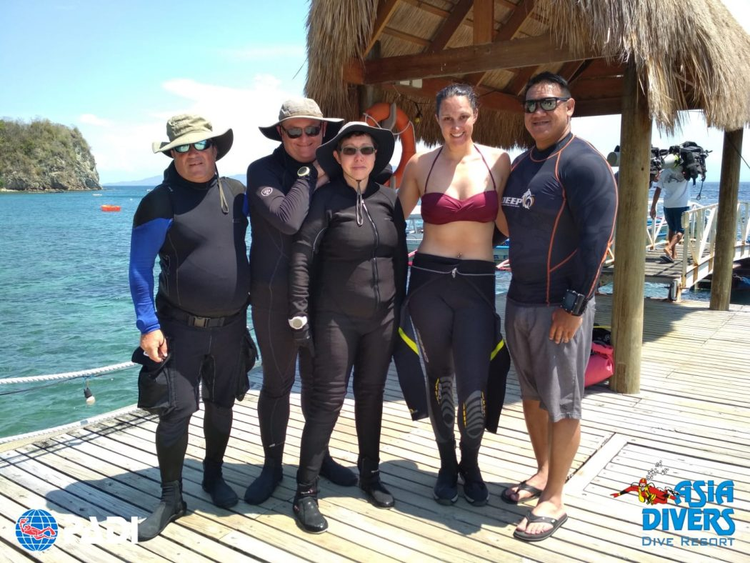 scuba diving in Puerto Galera, Philippines with Asia Divers