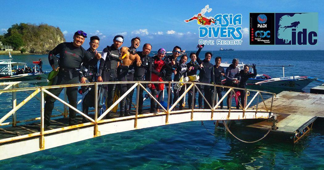 verde island padi idc scuba monster asia divers blog puerto galera philippines