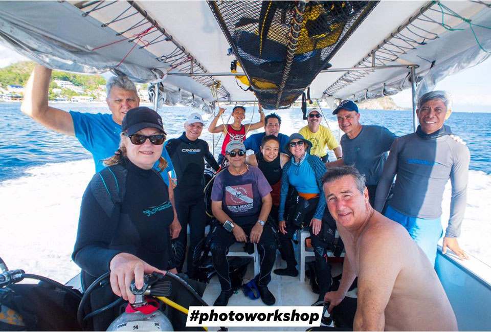 asia divers underwater photography workshop puerto galera philippines