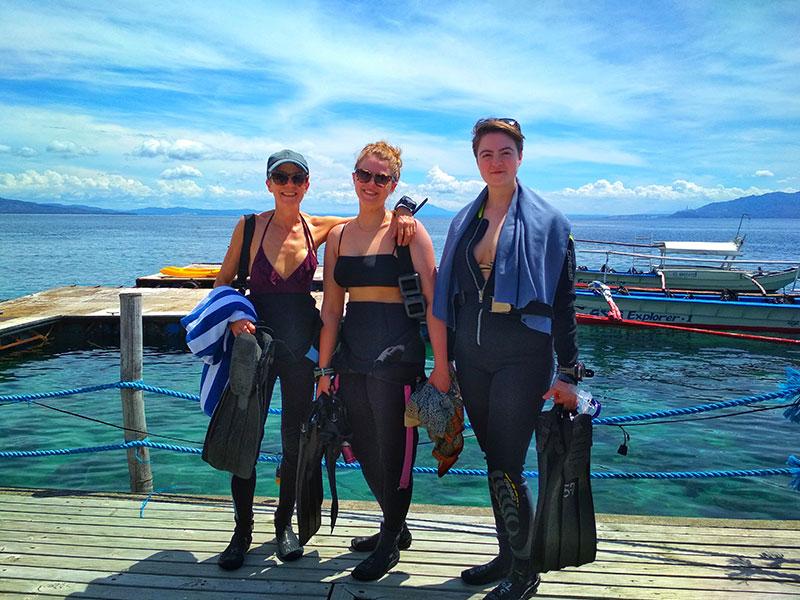 padi advanced open water diver course el galleon dive resort
