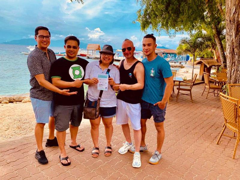 OSM Ship Management at el galleon dive resort philippines