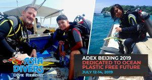 asia divers at adex beijing dive show 2019