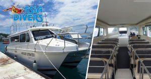 batangas to puerto galera boat mindoro sprinter el galleon dive resort