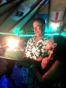 birthday party at el galleon dive resort puerto galera