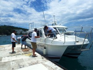 mindoro sprinter batangas puerto galera boat