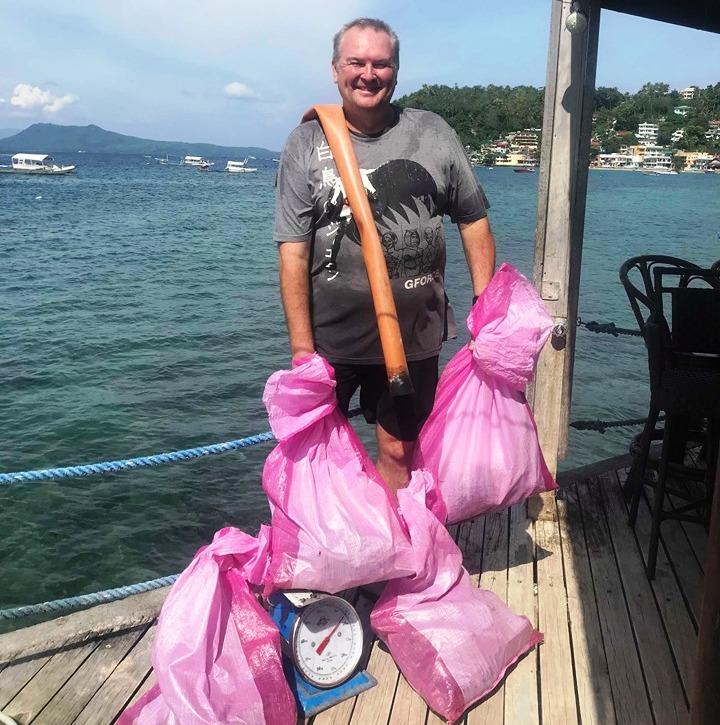 padi dive against debris specialty