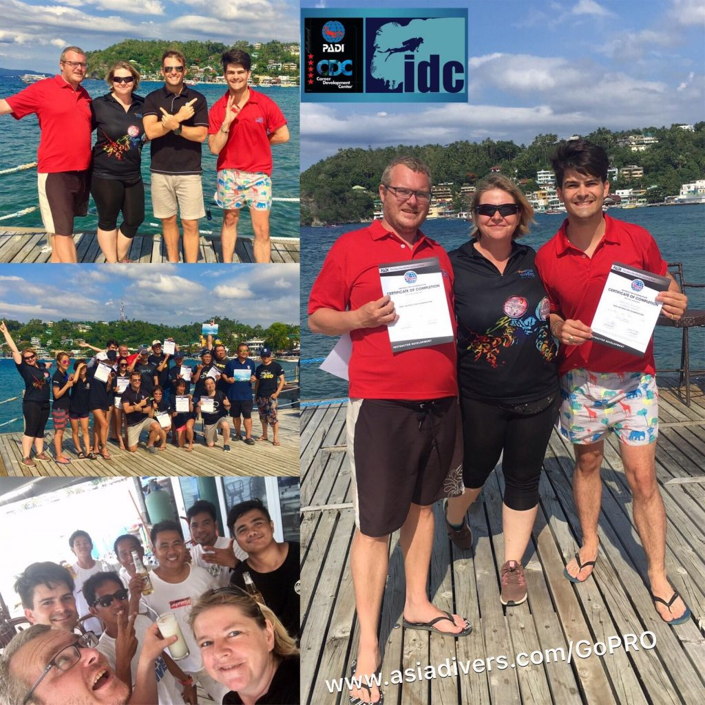 padi idc instructor course philippines