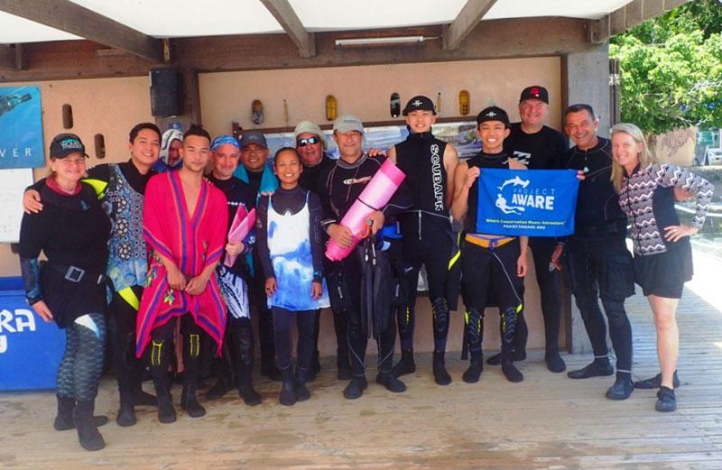 padi women dive day 2019 el galleon dive resort puerto galera