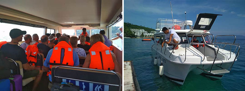 el galleon dive resort batanagas puerto galera boat