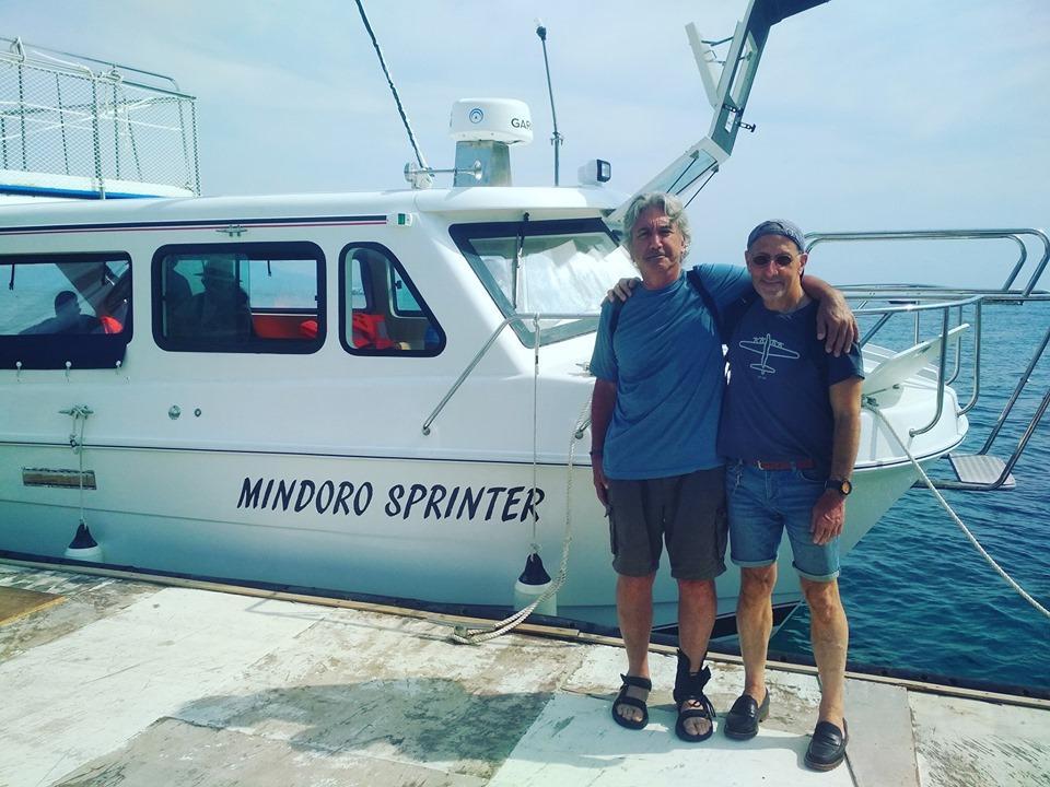 Mindoro Sprinter Batangas to Puerto Galera boat of El Galleon Dive Resort