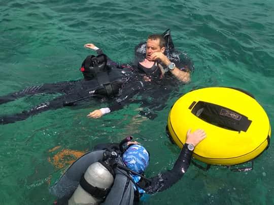 PADI EFR and Rescue course puerto galera philippines