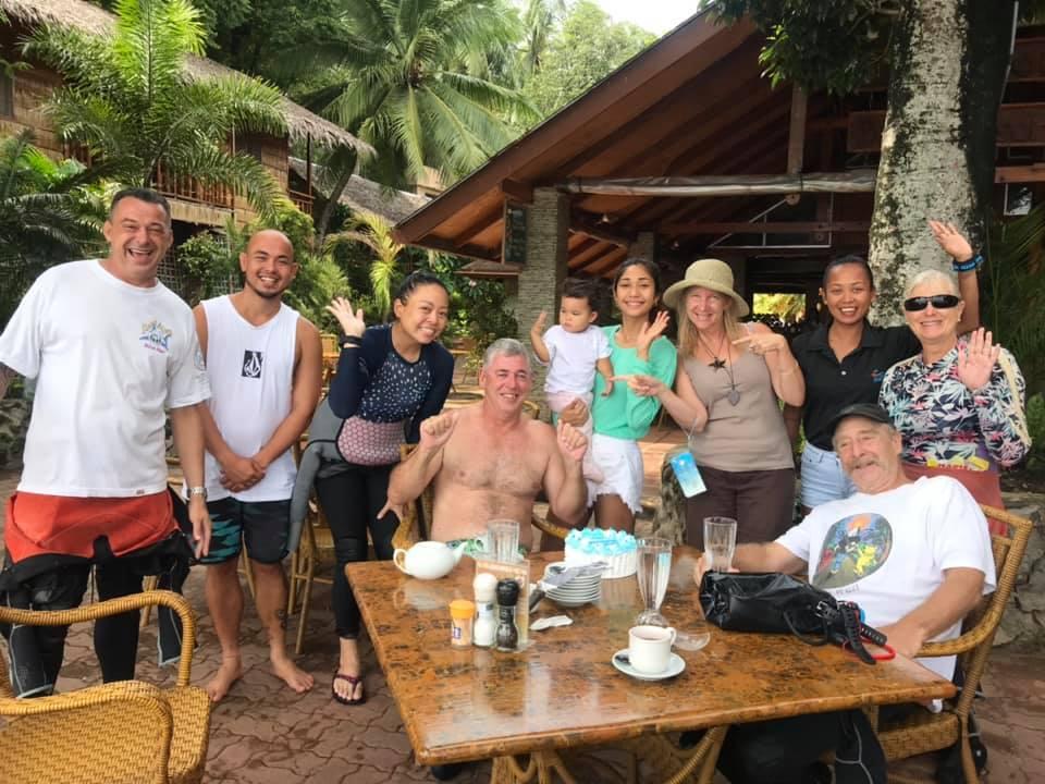 birthday celebration el galleon dive resort
