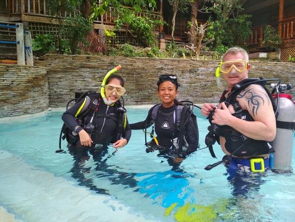 discover scuba diving puerto galera philippines