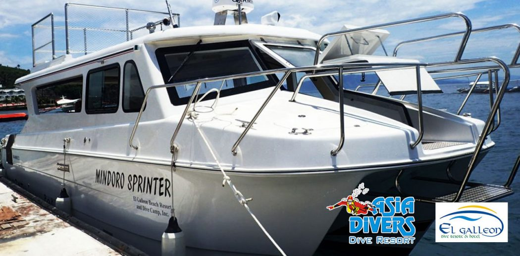 mindoro sprinter boat batangas puerto galera philippines